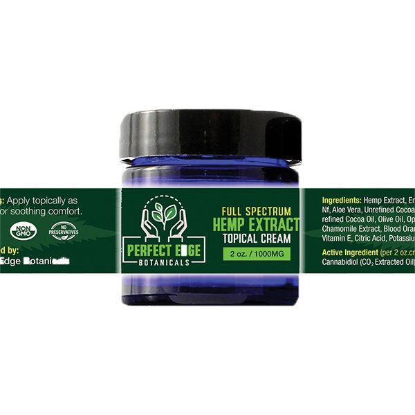 1000mg Hemp Extract Topical Cream 2oz Medical Marijuana Clinic at Green Life Center Boynton Beach