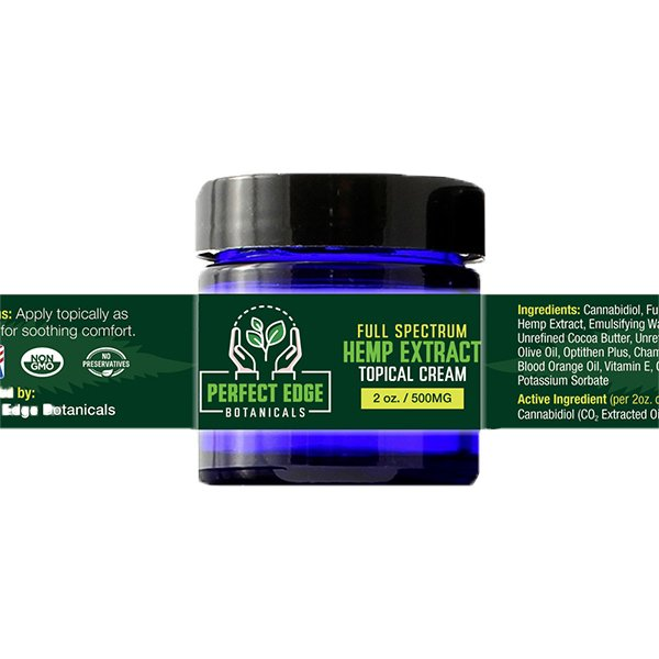 500mg Hemp Extract Topical Cream 2oz Medical Marijuana Clinic at Green Life Center Boynton Beach