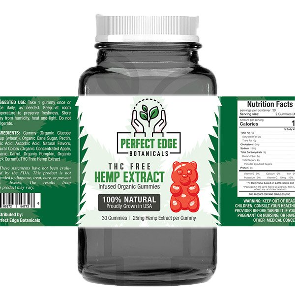 Hemp Extract Gummies Full Spectrum 750mg Medical Marijuana Clinic at Green Life Center Boynton Beach